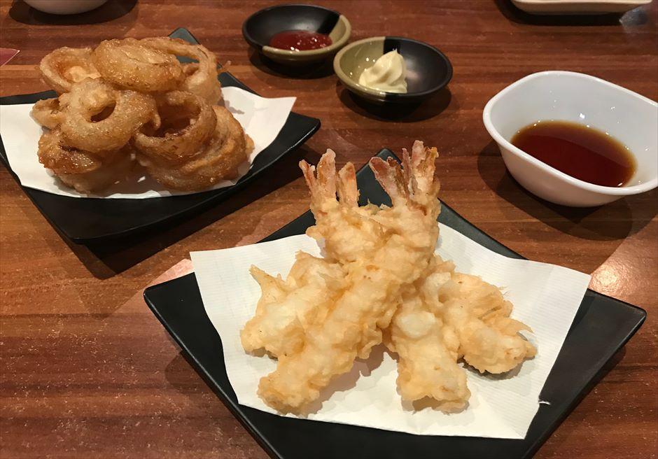 セブ島の日本食レストランChikuzenyaのサイドメニュー