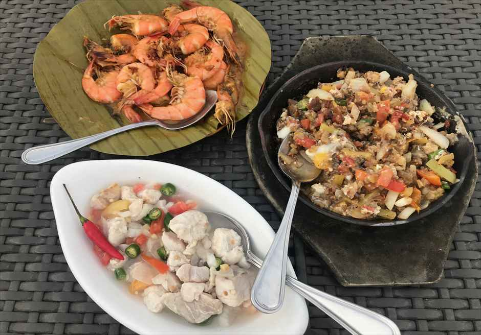 セブ島のフィリピン料理レストランLantawおすすめメニュー