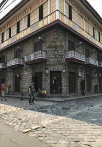 マニラのスペイン風の街並み