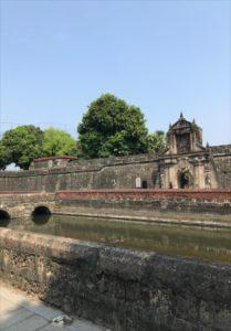 マニラの観光地 サンティアゴ要塞