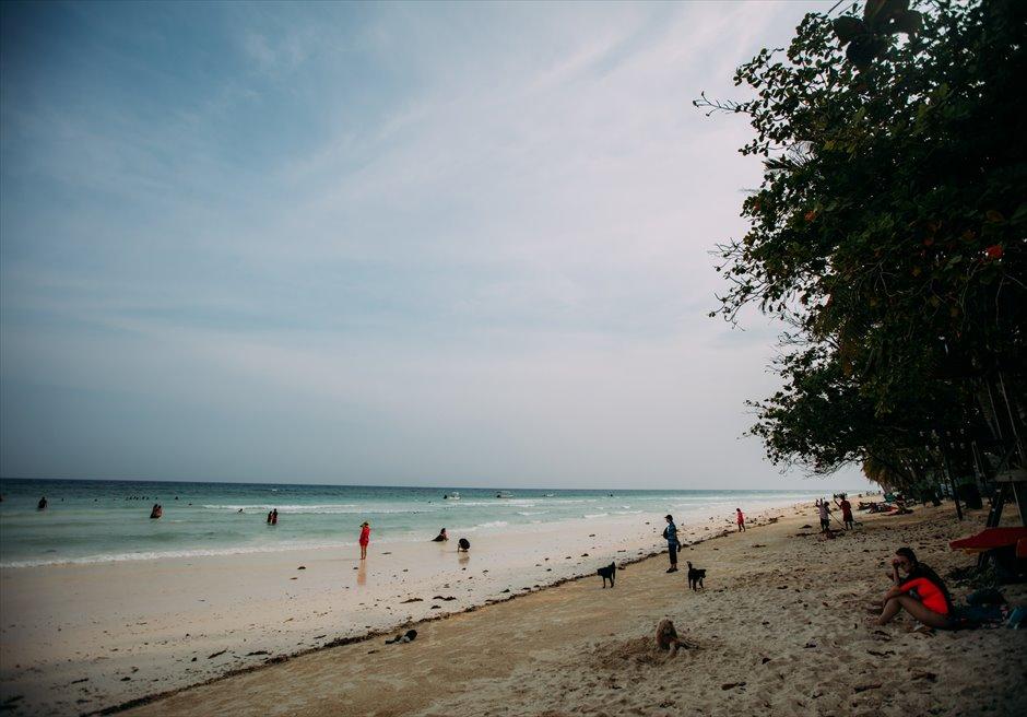 ボホール島 パブリックビーチ