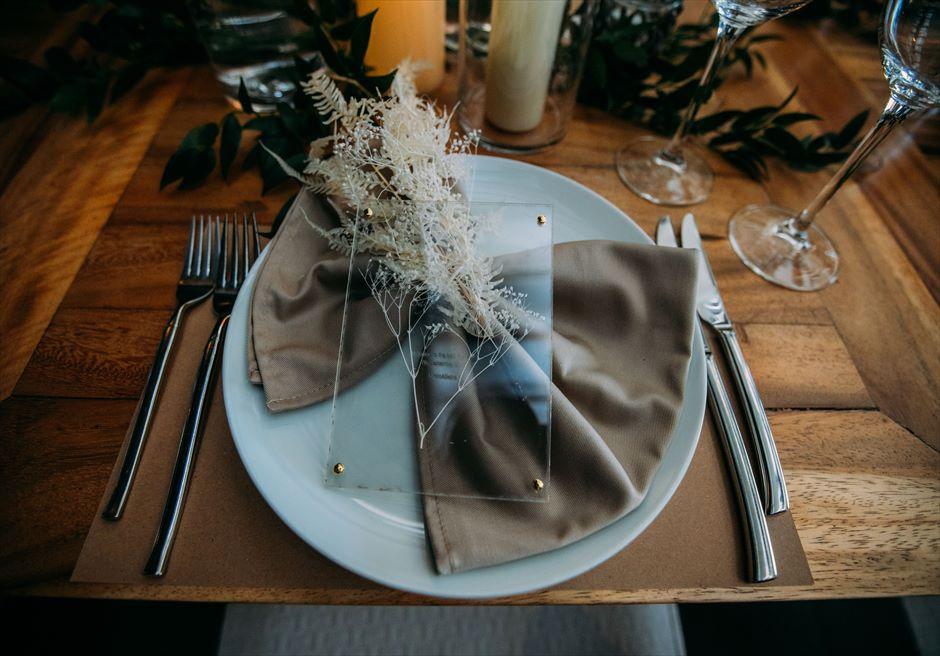 セブ島挙式 パーティー テーブルデコレーション