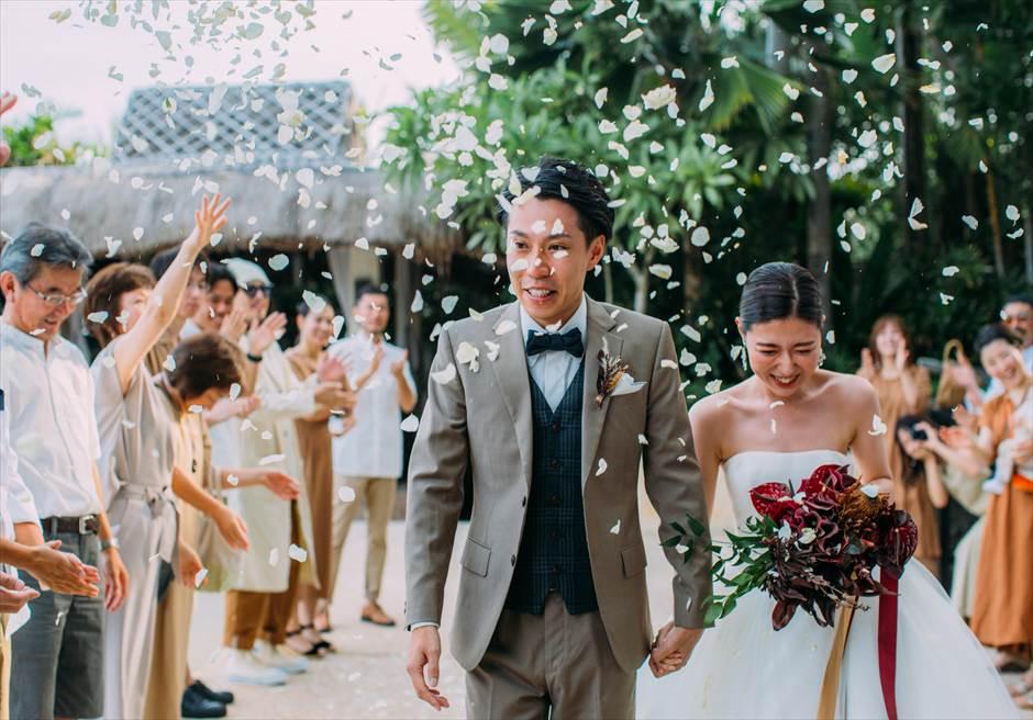 セブ島結婚式 フラワーシャワー アバカ・リゾート
