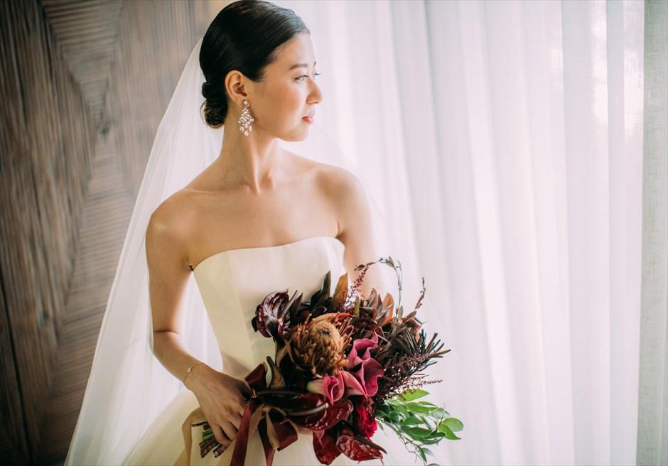 セブ結婚式 ヘアスタイル 土田留美さん