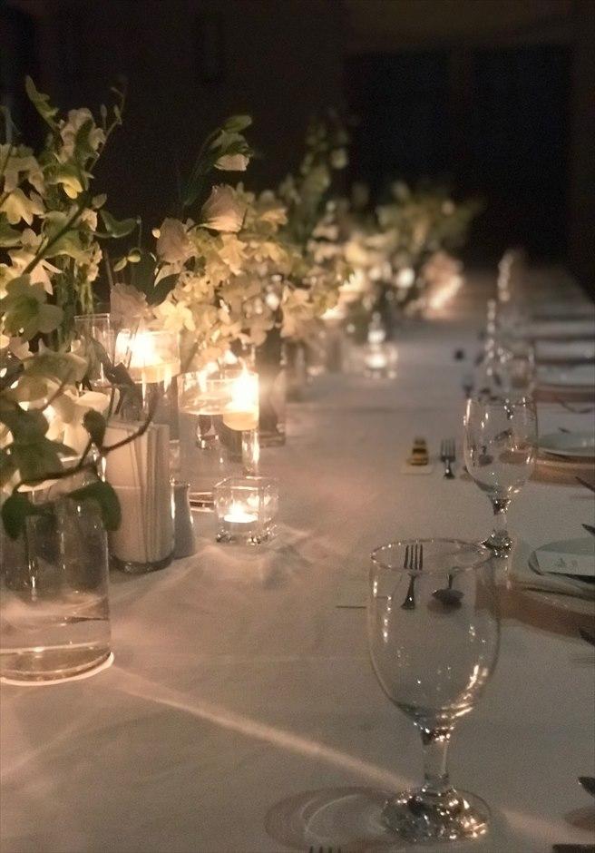 セブ島レストラン テーブルデコレーション