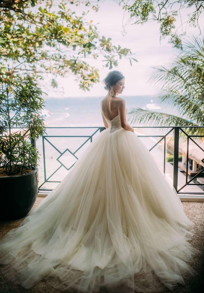 セブ島挙式 セミオーダー ウェディングドレス