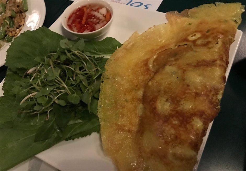 ベトナム ソル・アン・バン・リゾート ディナー