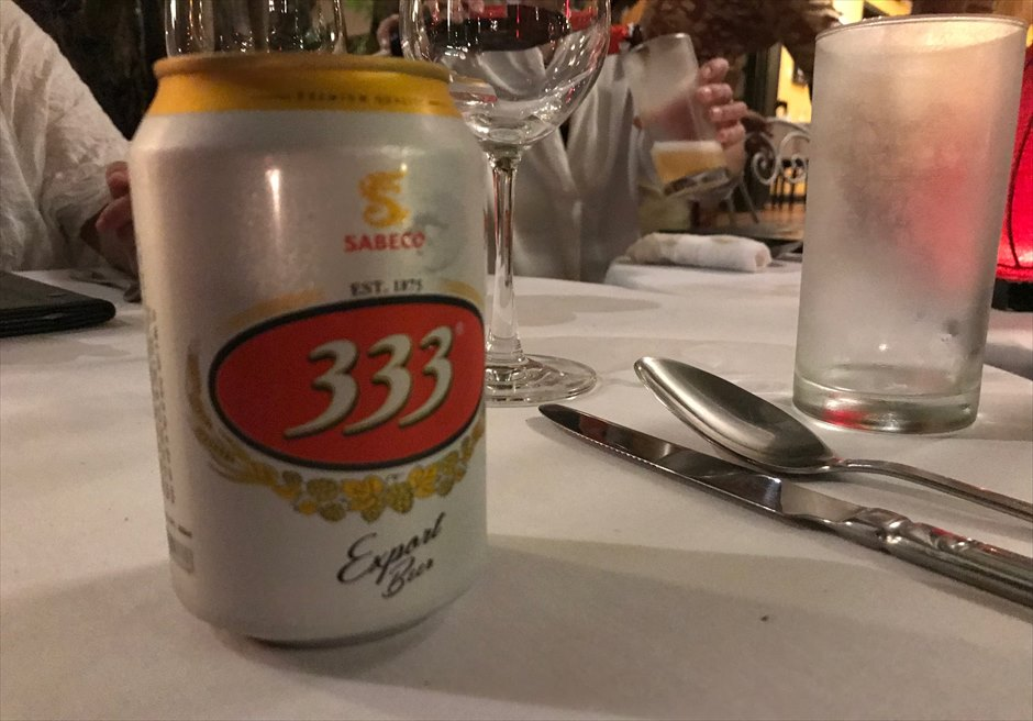 ベトナム ローカルビール 333