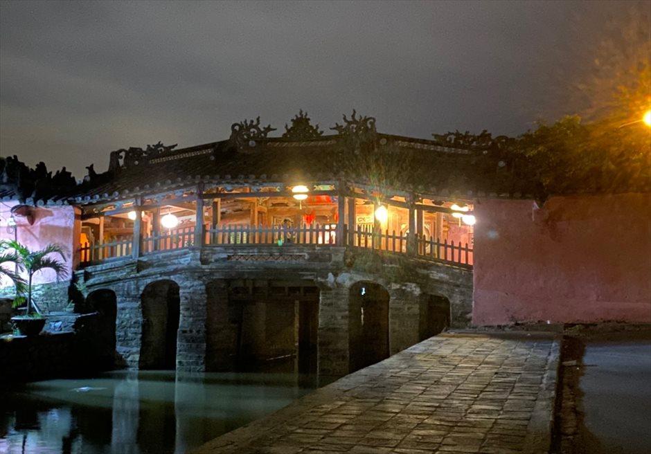 ベトナム ホイアン旧市街 日本人橋