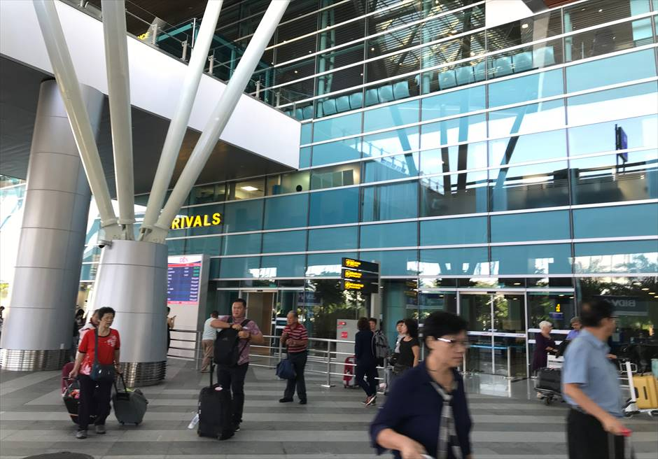 ベトナム ダナン空港 arrival