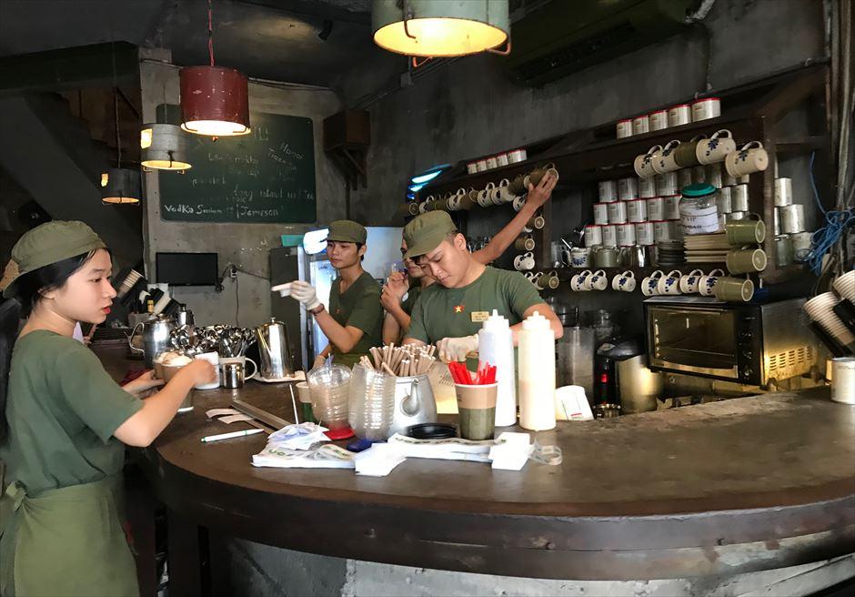 ベトナム ダナン おすすめカフェ「CONG CAPHE」店内