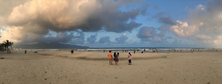 ベトナム ダナン フォトスポット ミーケービーチ