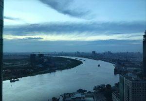 ベトナム ホーチミン サイゴン川