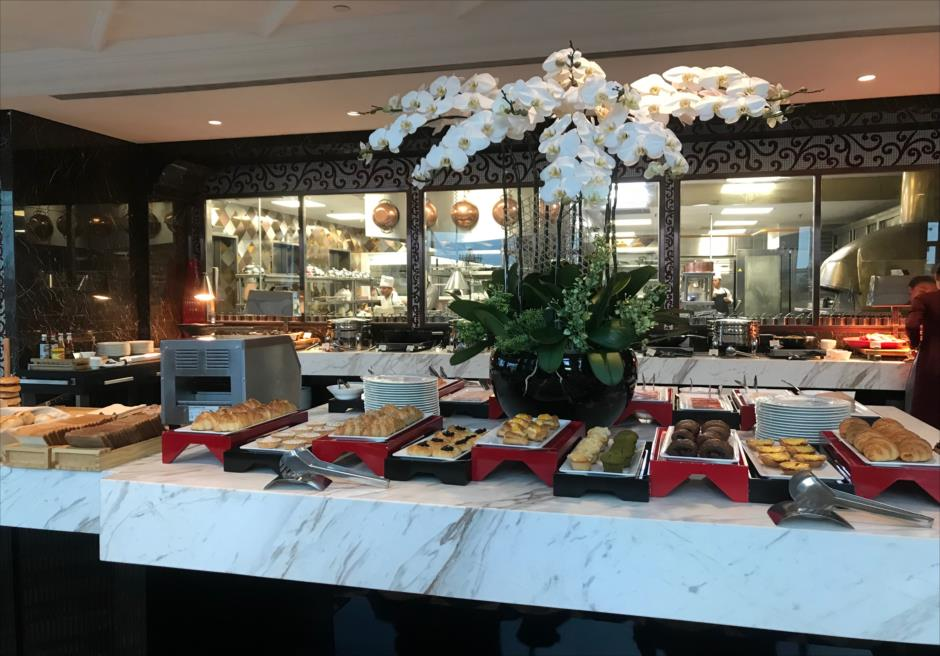 ベトナム ホーチミン レベリー・サイゴン・ホテル 朝食