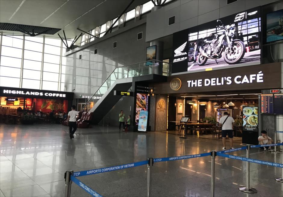 ベトナム ダナン空港 国内線ターミナル カフェ