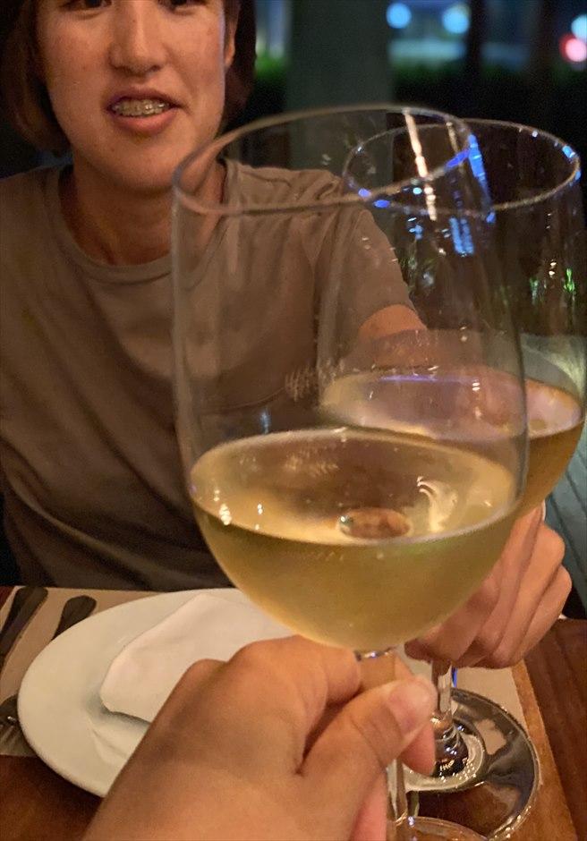 セブ島おすすめグルメ TAVOLATA ワイン